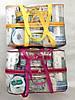 Набор из 4+1 прозрачных сумок в роддом Mommy Bag сумка - S,M,L,XL - Красные, фото 5