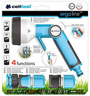 Пистолет для полива Cellfast Ergo многофункциональный, ()  (53-330), фото 1