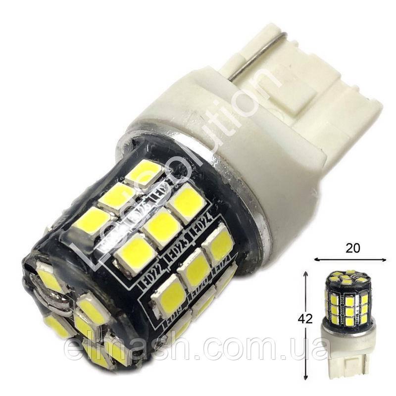 Лампа LED 12V 7440 33SMD 2835 750Lm новая БЕЛЫЙ