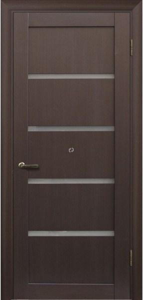 Двері МЮНХЕН L-1 Полотно, шпон, зрощений брус сосни