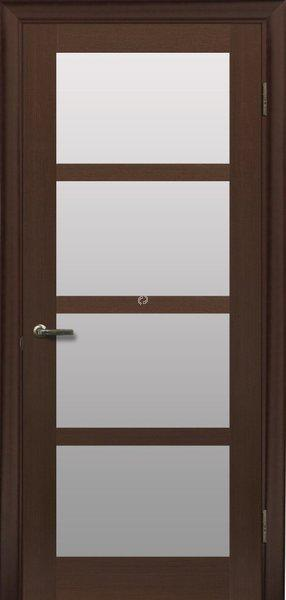 Двери МЮНХЕН L-4 Полотно+коробка+1 к-кт наличников, шпон