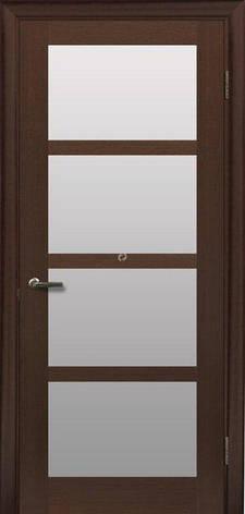 Двери МЮНХЕН L-4 Полотно+коробка+1 к-кт наличников, шпон, фото 2
