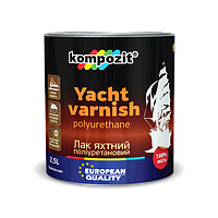 Лак яхтный полиуретановый Kompozit 10л глянцевый (Композит)
