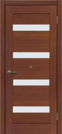 Двери МЮНХЕН L-11 Полотно+коробка+2 к-та наличников+добор 90мм, шпон, фото 2