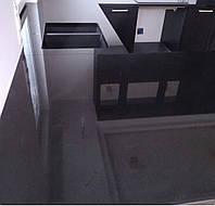 Столешница из кварцевого камня черная, фото 1