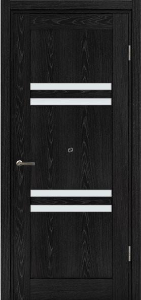 Двері МЮНХЕН L-15 Полотно+коробка+2 до-та лиштв+добір 90мм, шпон