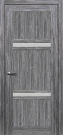 Двери МЮНХЕН L-18 Полотно+коробка+1 к-кт наличников, шпон, фото 2