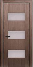 Двері МЮНХЕН L-24 Полотно+коробка+2 до-та лиштв+добір 90мм, шпон