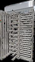 Полноростовой турникет SESAME BASIC, полированная нержавеющая сталь AISI 304, ротор 90°, фото 1