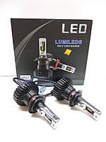 Светодионые автолампы LED X5 H7, 6000LM, 6500K, 50W, Lumileds Luxeon Z ES, 9-36V, фото 1