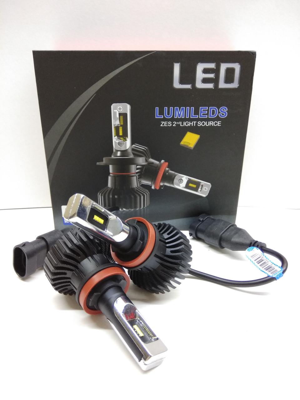 Светодионые автолампы LED BSmart Extra 5, H11, H8, H9, H16(JP), 50W, Lumileds Luxeon Z ES, 9-36V
