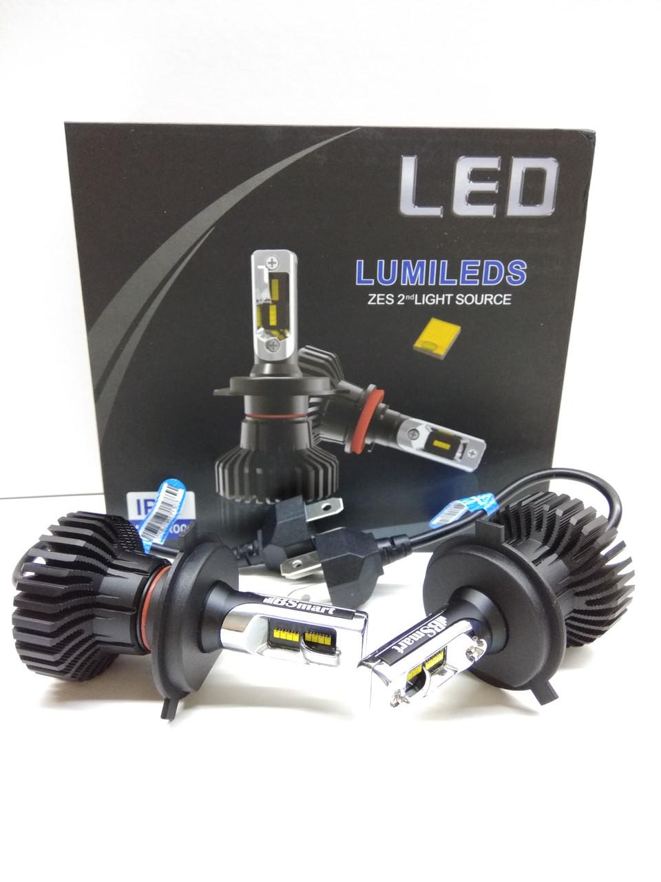 Светодионые автолампы LED BSmart Extra 5, H4, 50W, Lumileds Luxeon Z ES, 9-36V