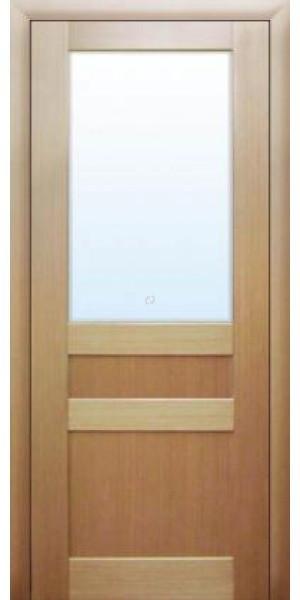 Двері МЮНХЕН L-35 Полотно, шпон, зрощений брус сосни
