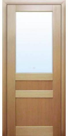 Двері МЮНХЕН L-35 Полотно, шпон, зрощений брус сосни, фото 2