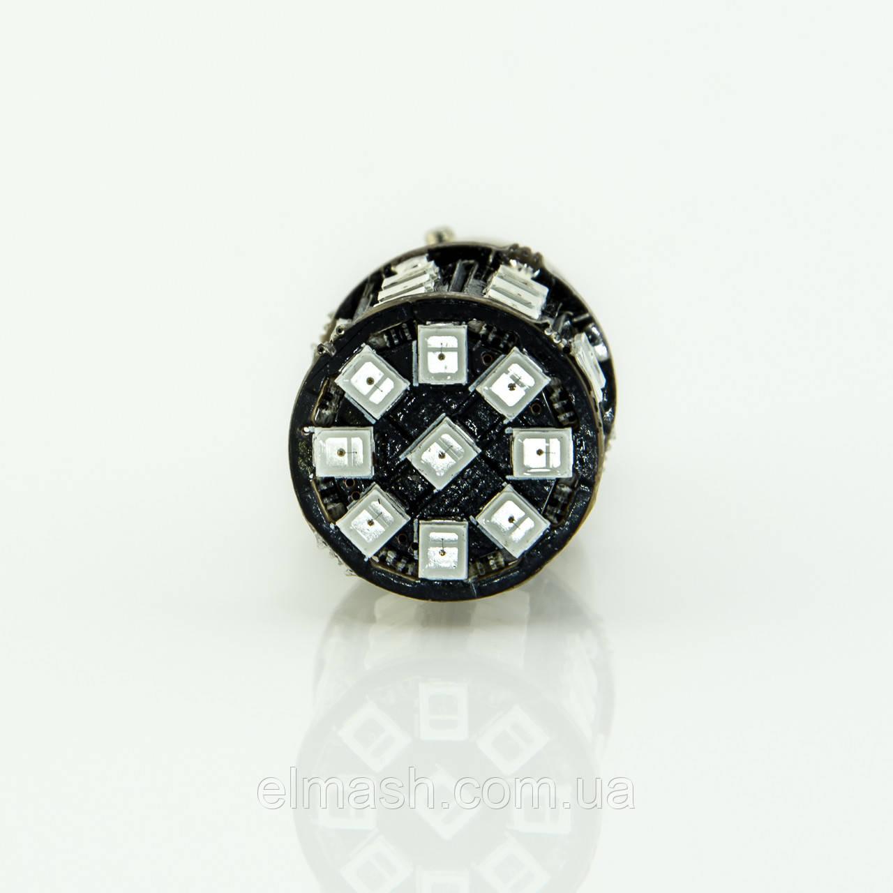 Лампа LED 12V 1157 33SMD 2835 КРАСНЫЙ, фото 1