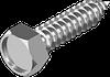 Саморез по металлу, шестигранная головка DIN 7976C