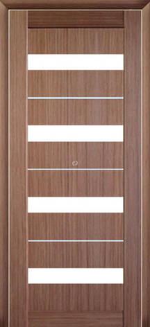 Двери МЮНХЕН L-12.M Полотно+коробка+2 к-та наличников+добор 90мм, шпон, фото 2