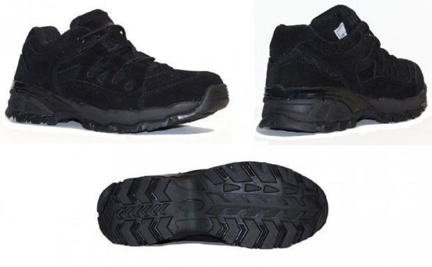 Ботинки армейские  летние MIL-TEC SQUAD 2,5 Black, 12823502 (12823502 42)