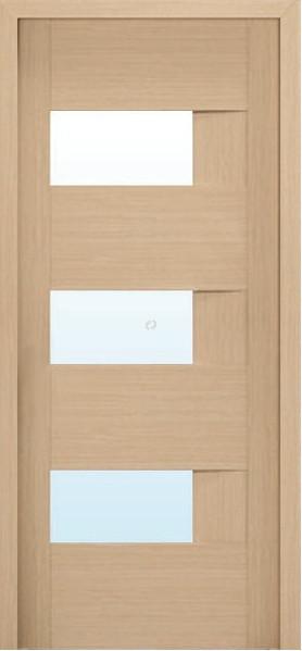 Двери МЮНХЕН L-19.S Полотно+коробка+1 к-кт наличников, шпон