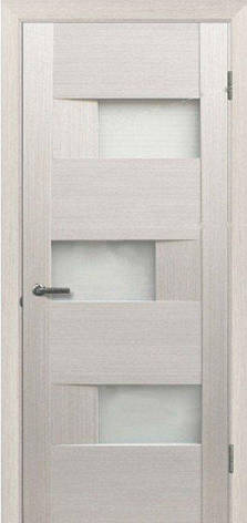 Двері МЮНХЕН L-20.S Полотно+коробка+2 до-та лиштв+добір 90мм, шпон, фото 2