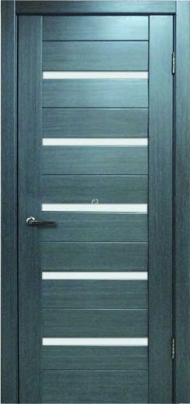 Двери МЮНХЕН L-37.S Полотно+коробка+2 к-та наличников+добор 90мм, шпон