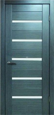 Двери МЮНХЕН L-37.S Полотно+коробка+2 к-та наличников+добор 90мм, шпон, фото 2