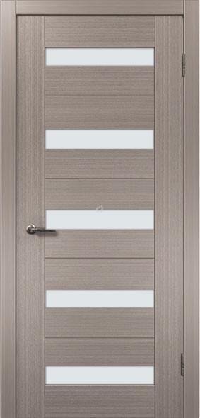 Двери МЮНХЕН L-38.S Полотно+коробка+2 к-та наличников+добор 90мм, шпон