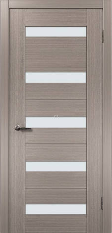 Двери МЮНХЕН L-38.S Полотно+коробка+2 к-та наличников+добор 90мм, шпон, фото 2