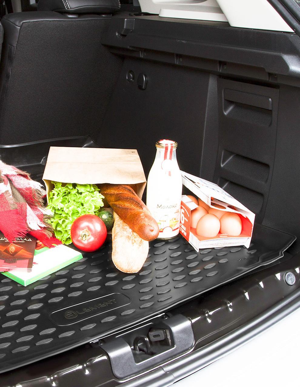 Коврик в багажник Nissan Murano, 2016->, 1 шт. (полиуретан)  ELEMENT3661B13
