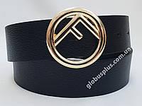 Ремень женский кожаный Fendi, ширина 40 мм., реплика 930732