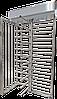Полноростовой турникет SESAME BASIC, шлифованная нержавеющая сталь AISI 316, ротор 90°