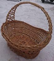 Пасхальная корзина плетеная
