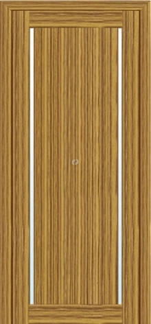Двери МЮНХЕН T-4 Полотно+коробка+2 к-та наличников+добор 90мм, шпон , фото 2