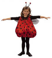 Распродажа! Детский карнавальный костюм Божья коровка р.90-104