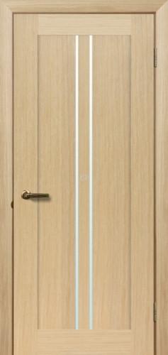 Двери МЮНХЕН T-7 Полотно, шпон, срощенный брус сосны