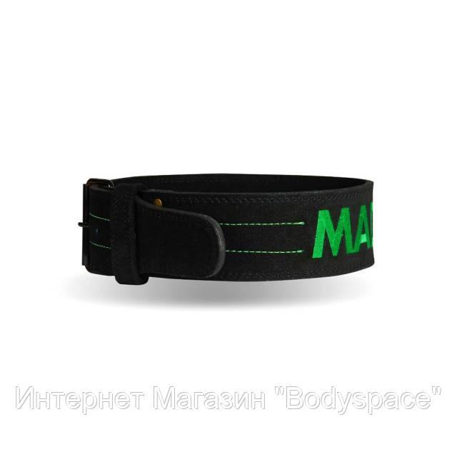 MadMax, Пояс для пауэрлифтинга кожаный Single Prong MFB 301