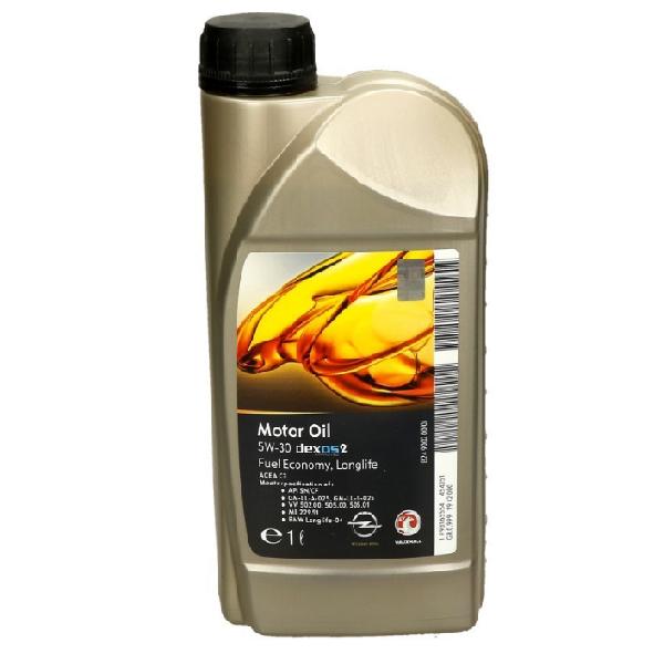 Масло моторное GM Motor Oil 5W-30 Dexos2 1л