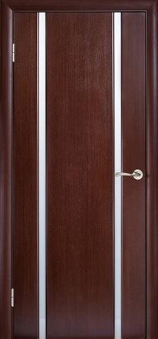 Двері ГЛАЗГО-2 Полотно+коробка+1 до-кт наличників, шпон