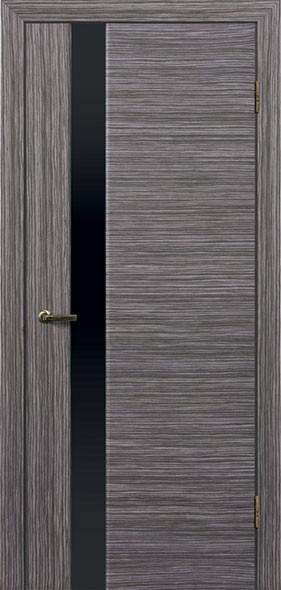 Двери ГЛАЗГО ДИВЕРСО-1 Полотно+коробка+1 к-кт наличников, шпон