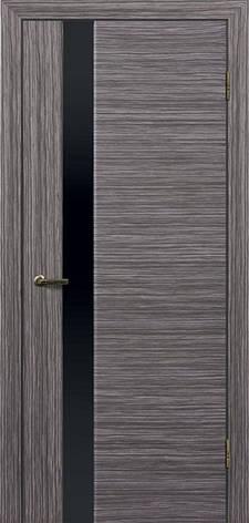 Двери ГЛАЗГО ДИВЕРСО-1 Полотно+коробка+1 к-кт наличников, шпон , фото 2