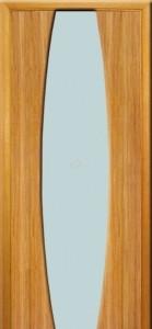Двери ИДЕАЛ Полотно+коробка+1 к-кт наличников, шпон, срощенный брус сосны