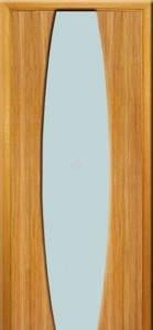 Двери ИДЕАЛ Полотно+коробка+1 к-кт наличников, шпон, срощенный брус сосны , фото 2