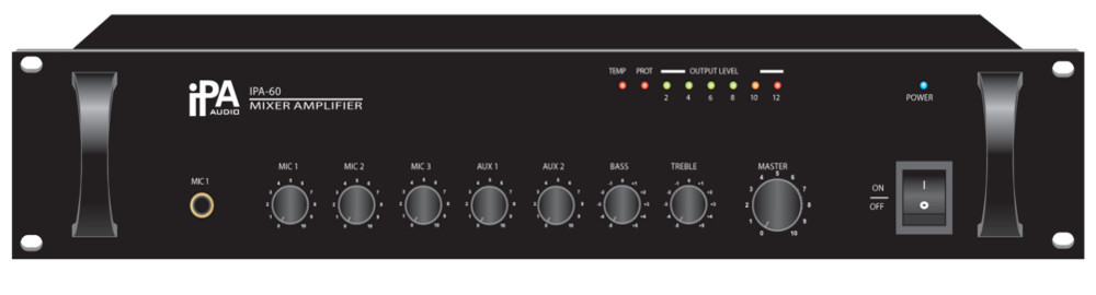 Мікшируючий підсилювач IPA AUDIO IPA-60