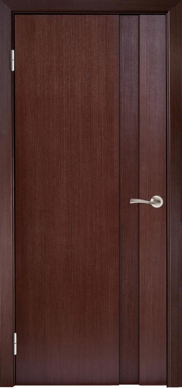 Двері МІЛАНО-1 ПГ Полотно+коробка+2 до-та лиштв+добір 90мм, шпон