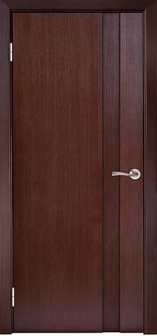 Двері МІЛАНО-1 ПГ Полотно+коробка+2 до-та лиштв+добір 90мм, шпон, фото 2