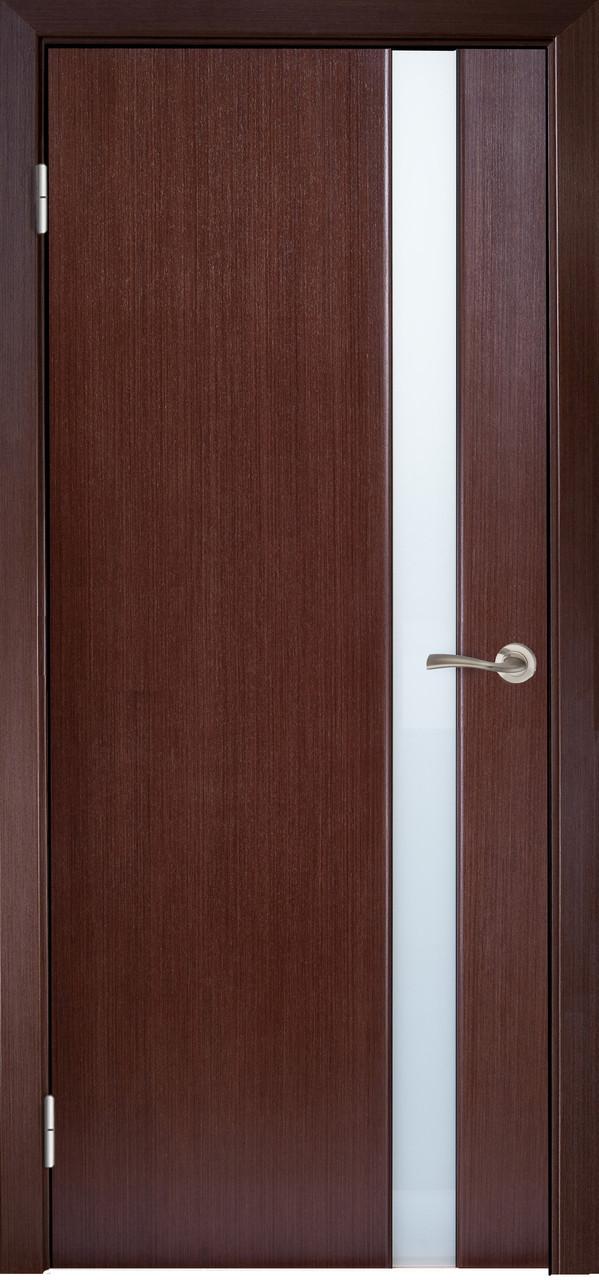 Двері МІЛАНО-1 ЗА Полотно+коробка+2 до-та лиштв+добір 90мм, шпон