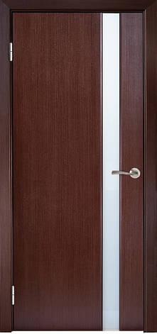 Двері МІЛАНО-1 ЗА Полотно+коробка+2 до-та лиштв+добір 90мм, шпон, фото 2