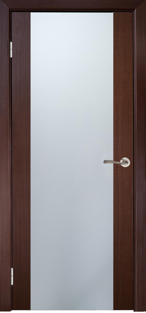 Двери МИЛАНО-2 ПО Полотно+коробка+1 к-кт наличников, шпон