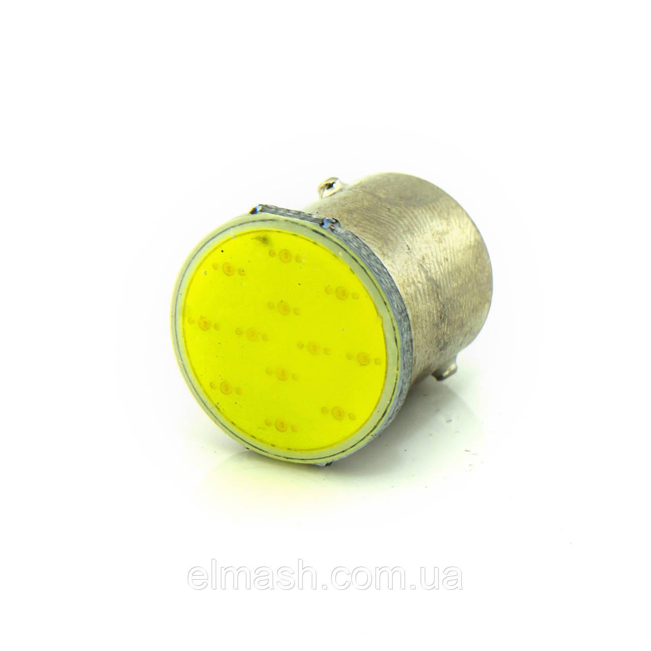 Лампа LED 24V 1157 COB 55/90Lm БЕЛЫЙ