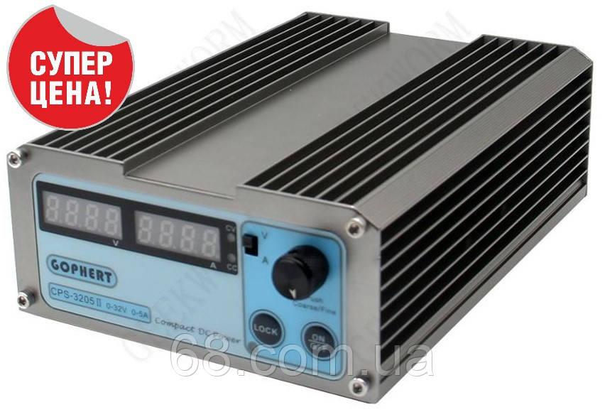 GOPHERT CPS-3205II Универсальный лабораторный импульсный блок питания 32В 5А 32V 5A